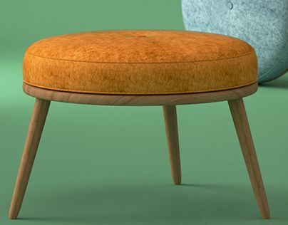 """Check out new work on my @Behance portfolio: """"Moonshine footstool by Galvin Brothers"""" http://on.be.net/1Fy8Cp5"""