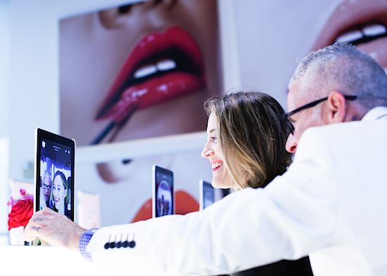 #bstat Preview: L'Oréal Paris Intro's The Makeup Genius App: First Of Its Kind Cosmetic Mirror Allows You To Play With Beauty Looks In Real Time   BeautyStat.com