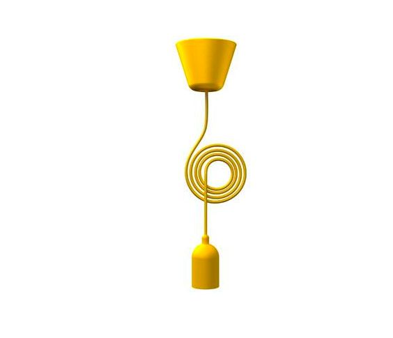 Light & Store - Funk  Suspension Yellow