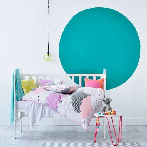 Adairs Kids Cloud Cot Quilted Bedlinen - Bedroom Quilt Covers & Coverlets - Adairs Kids online