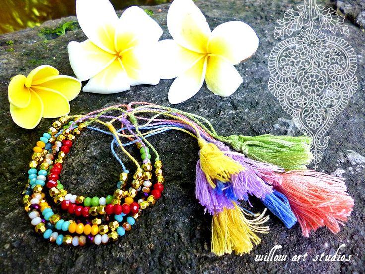 Crystals bracelets