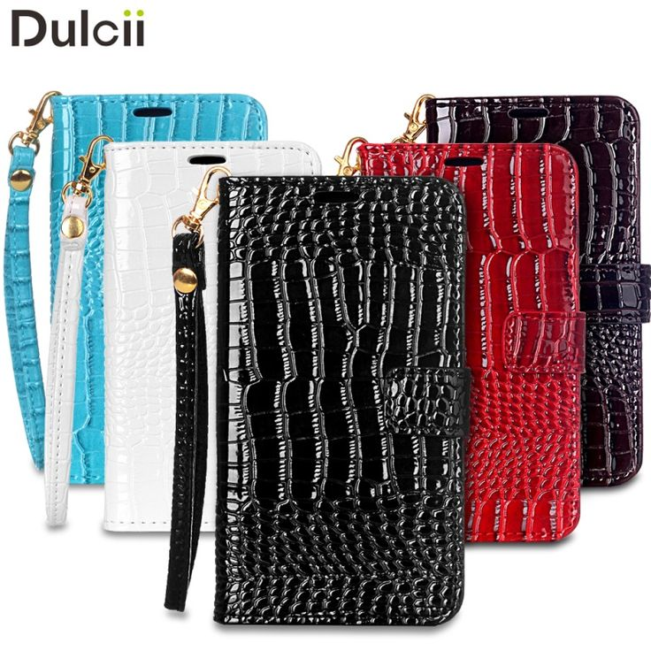 Funda Coque for Samsung Galaxy J3 Leather Cases Crocodile Leather Phone Case Bag for Galaxy J 3 J3 (2016) Cover with Hand Strap