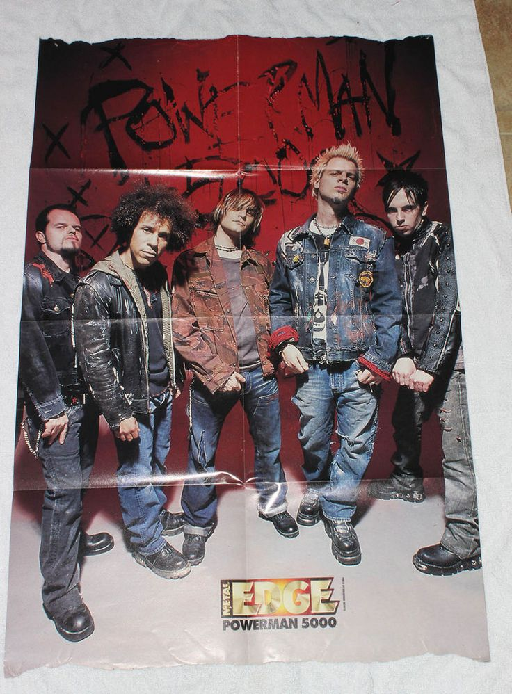 Powerman 5000 Band House of 1000 Corpse Poster Clippings From A Magazine #Powerman5000