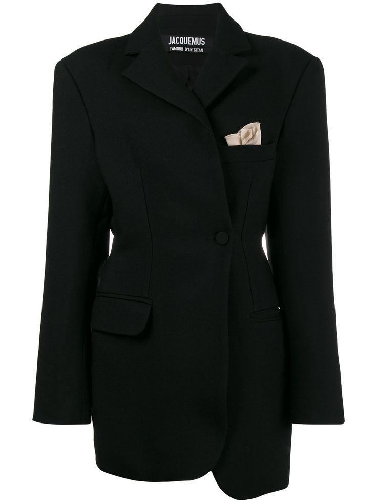 Jacquemus La Veste De Costume asymmetric blazer