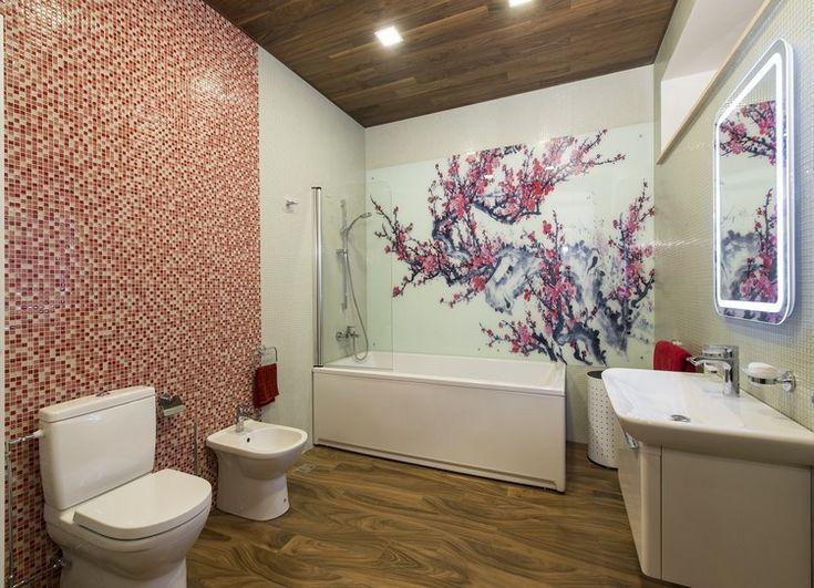 Wandpaneele mit Motiv japanischer Kirschbaum