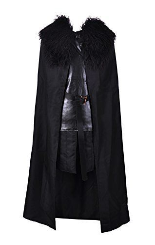 Introducing Crystal Dew Jon Snow Knights Watch Cosplay Costume for Man and Child. Get Your Ladies Products Here and follow us for more updates!