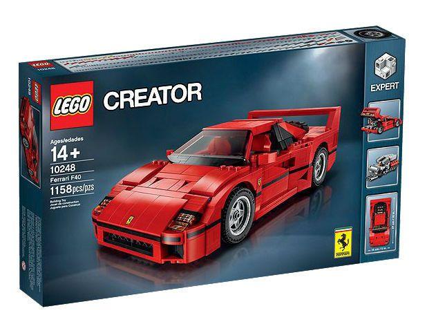 Nice Great Lego Creator Ferrari F40 10248 New In Box Retired 2017 2018 Ferrari F40 Lego Cars Lego Creator