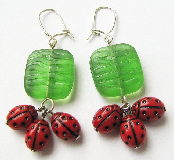 Ladybugs XII by woodfairy on Etsy, $10.00