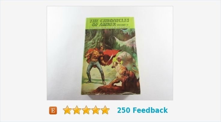 The #Chronicles of Amber Volume II by Roger Zelazny #book #fiction #gotvintage #vintage #etsy