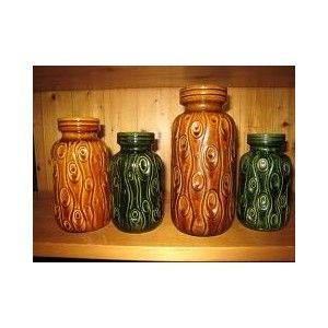Scheurich West Germany ...Onion pattern vases...large selection size & colors