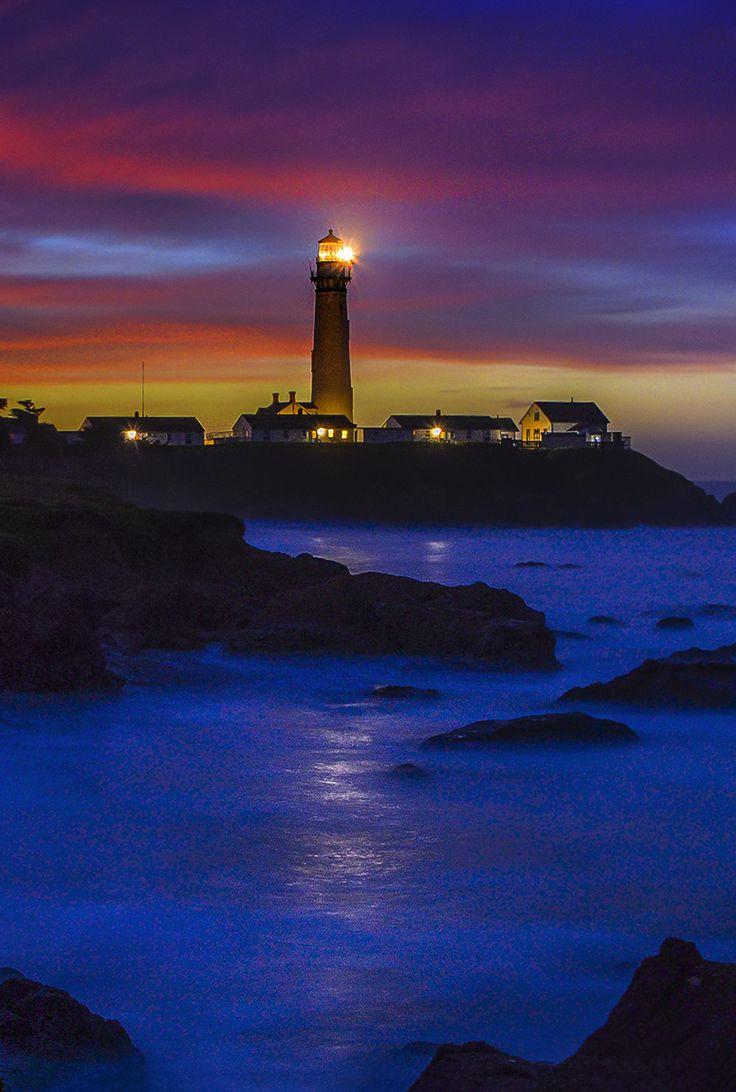 Pigeon Point Lighthouse Sunrise - William McIntosh ...
