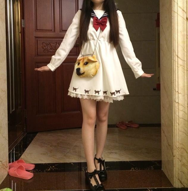 Aliexpress.com: Comprar Japonés Kawaii ropa Anime Liz Lisa Harajuku Sudaderas Kawaii vestido de marinero uniforme escolar japonés de Cosplay del vestido de cosplay sexy fiable proveedores en Fashion Superstar Town