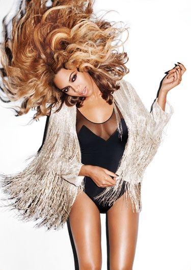 Beyonce in Harper's BAZAAR November 2011.