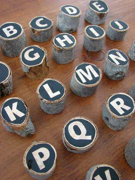 INSPIRÁCIÓK.HU Kreatív lakberendezési blog, dekoráció ötletek, lakberendező tanácsok: Konyhai dekoráció: betűs hűtőmágnesek