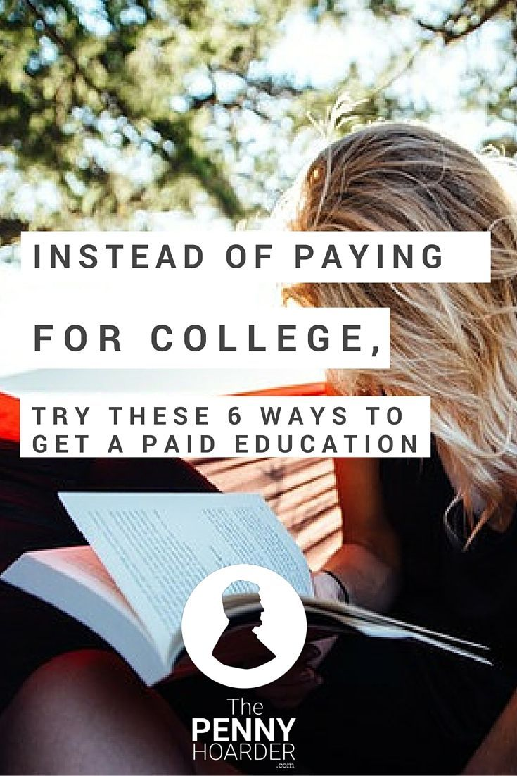 Sure, you'd learn a lot in college -- but it's expensive, and not a good fit for everyone. If you're not keen on college, try one of these alternative ways to develop new skills -- and get paid to learn. - The Penny Hoarder http://www.thepennyhoarder.com/cant-afford-college-get-paid-to-learn/