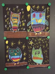 CLASS ART: owl picture