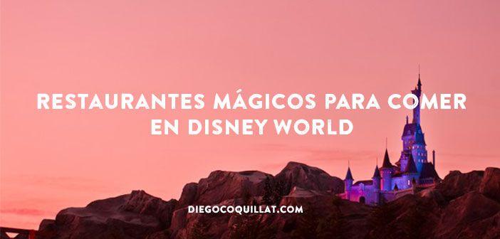 Si de algo sabe Disney es de experiencias de ensueño, también a través de la comida. La oferta de restaurantes en sus parques temáticos es infinita y muy diversa. En Disney World (Florida) son casi cien los establecimientos donde magia y gastronomía se unen para crear momentos irrepetibles #Disney #Restaurantes #Magia #Parquetemático #Disney World
