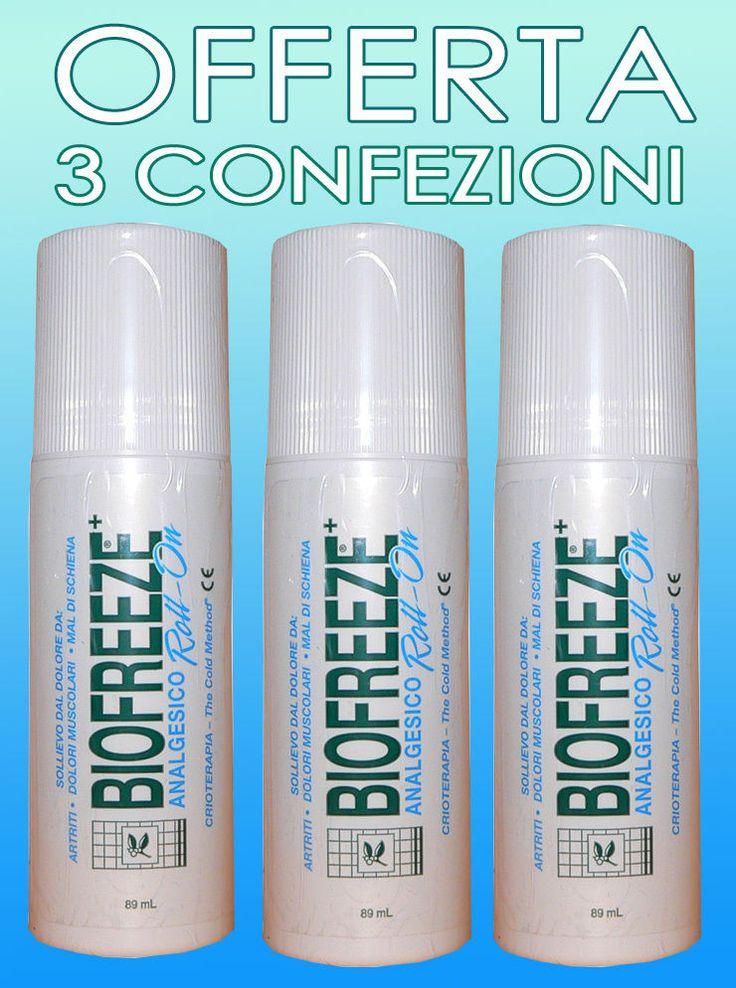 Biofreeze Roll-on antiinfiammatorio per dolori articolari e muscolari 89 ml - 3