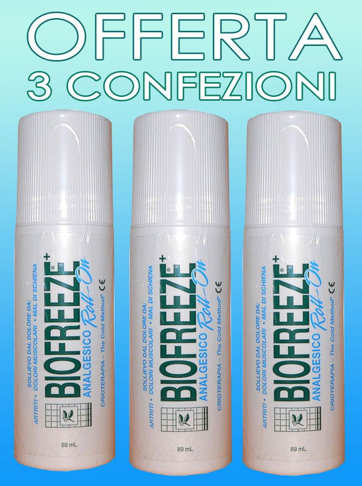 Biofreeze Roll-on antiinfiammatorio per dolori articolari e muscolari 89 ml - 3