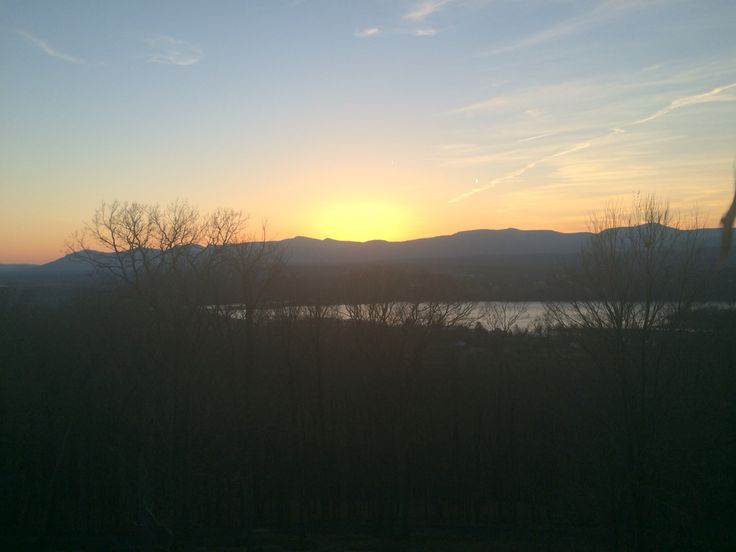 Another great sunset and spring is in the air.