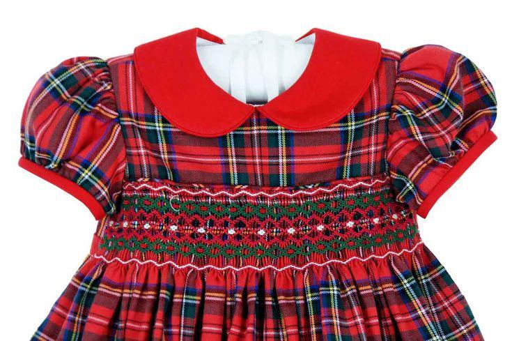 Image result for plaid smock dress