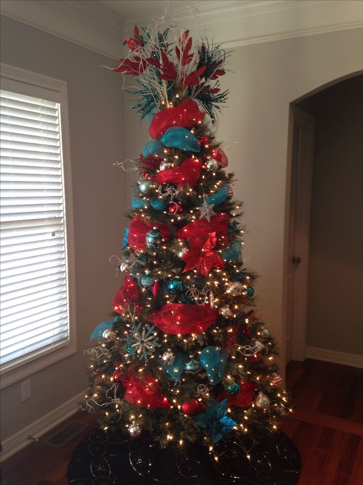 Ideas about red christmas trees on pinterest