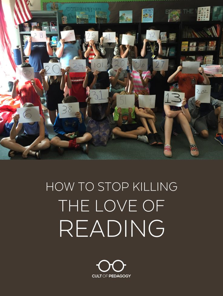 Too many schools are producing non-readers at an alarming rate, but it doesn't have to be that way. Pernille Ripp and I talk about how to change things.
