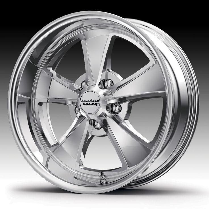 American Racing Wheels Brand | American Racing VN808 Mach 5 Chrome Custom Wheels Rims