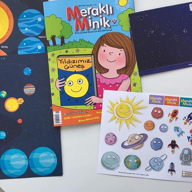 Benim çoçukluğumda  Milliyet Çocuk dergisi vardı. Her ay babamın dergiyi getirmesini dört gözle beklerdim. Okumayı bu kadar sevmemde Milliyet Çocuğun ve çizgi romanların katkısı büyüktür. İşte Tübitak'ın çıkardığı Meraklı Minik Dergisi de bildiğim kadarıyla 3-6 yaş arası çocuklara yönelik tek popüler bilim dergisi. Çağın 3 yaşını bitirdiği günden itibaren evimize her ay bir adet Meraklı Minik dergisi gelmekte. Dergi pozitif bilimlere çocukların ilgisini çıkartmalarla, hafıza kartları ve…