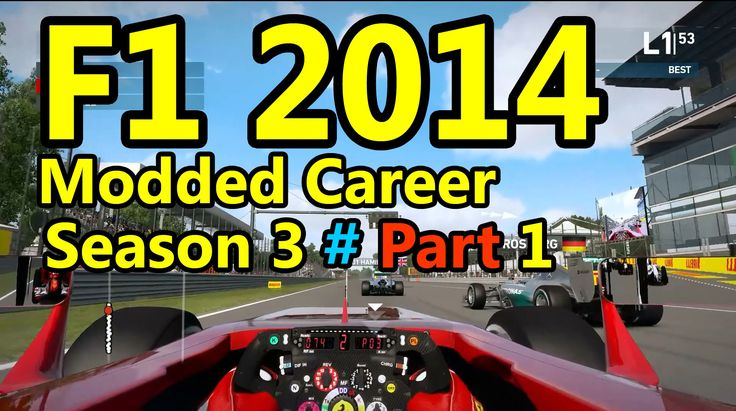 F1 2015 Gameplay Modded Career : 100% Race, Australia 1080p HD