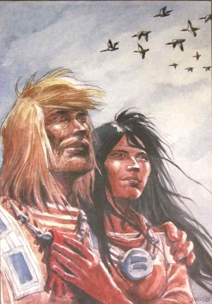 Buddy Longway et Chinook Derib