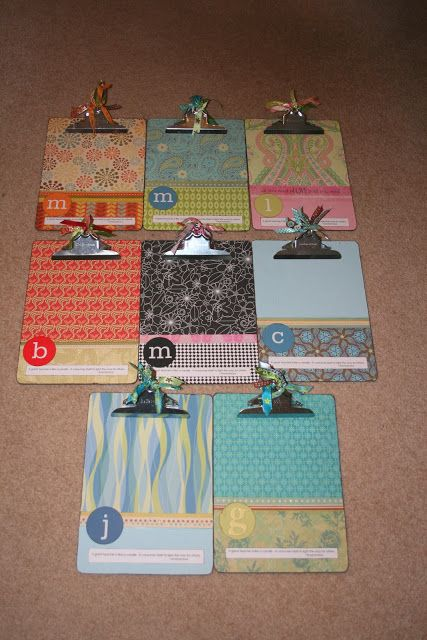 Make A Fun Clipboard for your child's teacher gift