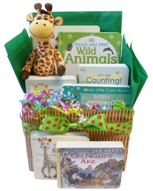 wild about baby book gift basket baby shower baskets baby shower baby shower