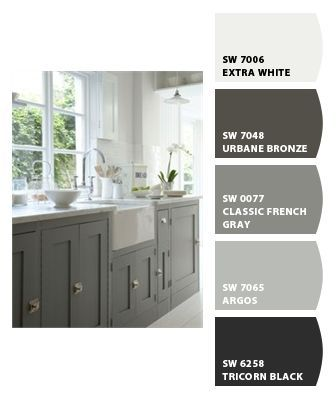 16 best images about Built-ins color on Pinterest | Gauntlet gray, Benjamin moore and Gray