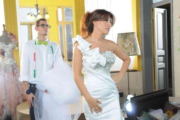 Najwa Karam by TONY YAACOUB #fashion #dress #design #celebrities #lebanon #lebanese #gown #wedding