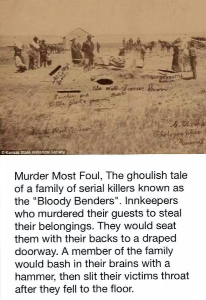 bloody benders   17 Best images about Bloody Benders on Pinterest   One room houses ...