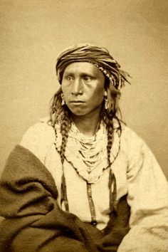 Te-na-ze-pa, a Sioux man, executed at Mankato for participation in the Massacre of 1862.