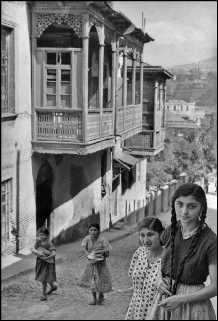 The old city, Tbilisi, Georgia 1954 by Henri Cartier-Bresson
