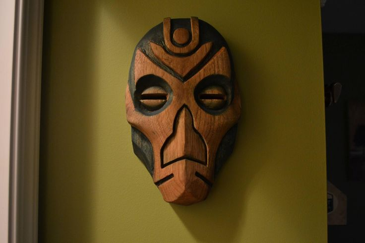 Skyrim: Hand Carved Dragon Priest Mask Bethesda fans are the best.