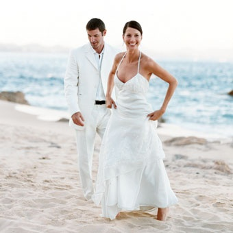 white versace suit for groom