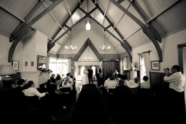 Inside Millwood's chapel...another photo from the day of my own wedding.  http://www.flowersframed.co.nz http://www.michaelrobertson.co.nz