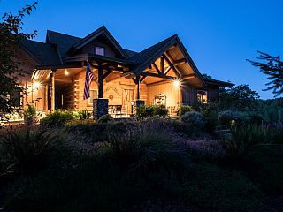 Fern Hill Lodge-Luxury Log Retreat on 25 acres in Willamette Valley Wine Country.    Fern Hill Lodge is perfect for family gatherings and retreats. However,...