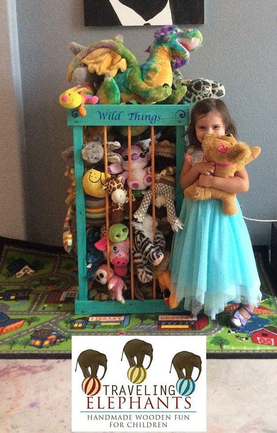 3 sizes available My ZOO stuffed animal by TravelingElephants