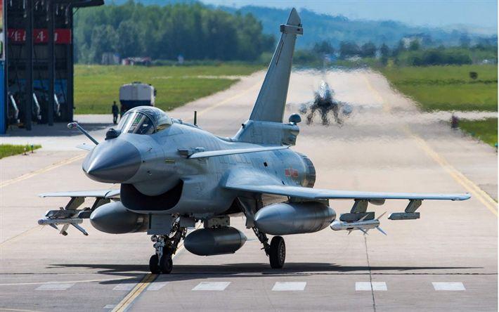 Herunterladen hintergrundbild chengdu j-10, chinesischen kämpfer, militärische luftfahrt, der luftwaffe von china j-10 aus china