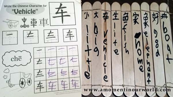 Chinese Bamboo Scrolls 5A