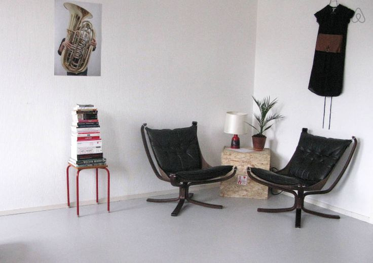 Lazy chairs from Sigurd Ressell/ iconic Falcon chairs- real collectables