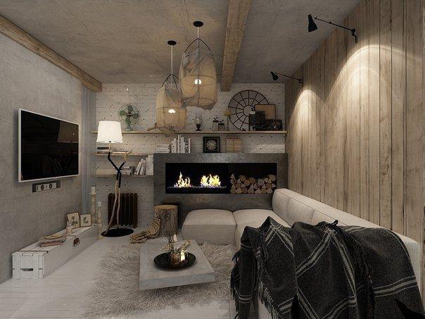 Дизайн - проект однокомнатной квартиры в белом цвете, метраж - 55 кв м - Дизайн интерьеров | Идеи вашего дома | Lodgers