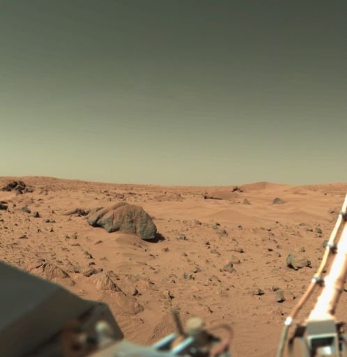 Mars photo from Viking 1 lander