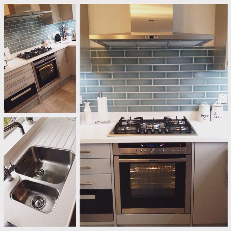 #lb_interiors #sdbtilingltd #neve #brick #crackle #glaze #tiles #corian #slwallsandfloor