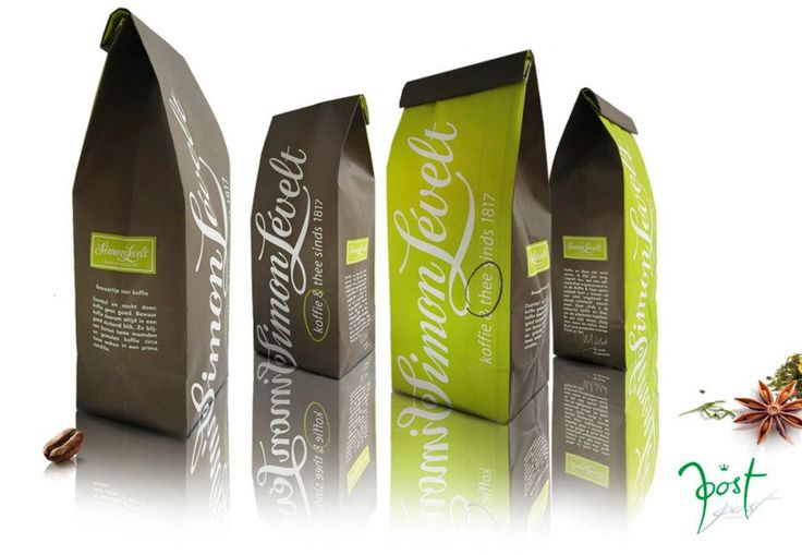 Are you in the mood for a delicous cup of tea or do you prefer a strong blend of coffee? Coffee, Tea bags for Dutch company Simon Levelt on behalf of RCLM.